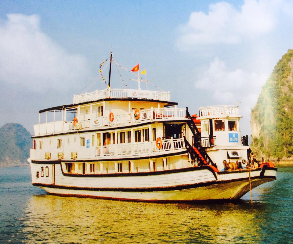 Du lịch Hạ Long 2 ngày 1 đêm ngủ tàu Golden Bay_images1