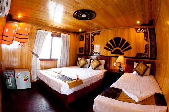 Du lịch Hạ Long 3 ngày 2 đêm ngủ tàu Golden Bay_images1