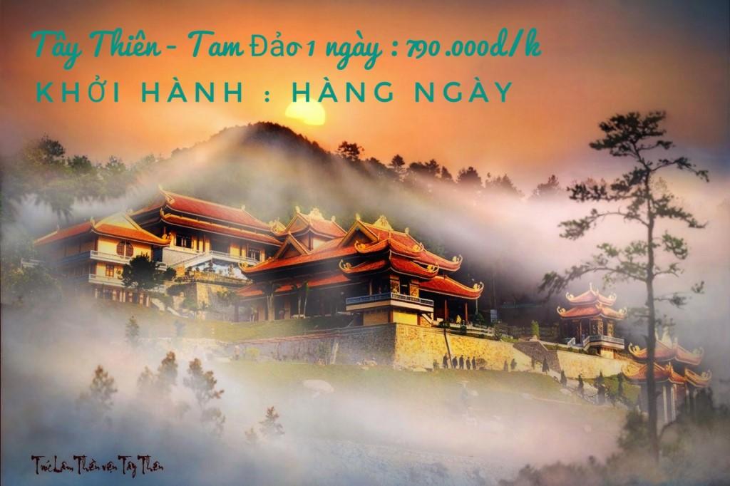 Hình ảnh của Tour Tây Thiên - Tam Đảo 1 ngày